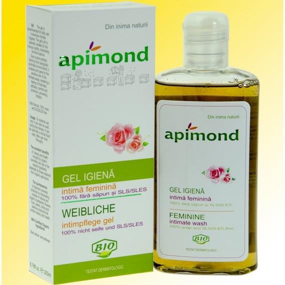 Gel igiena intima feminina - bio - fara sapun, sls/sles,  200ml