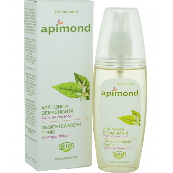 Apa tonica demachianta -flori de portocal - bio, 100ml
